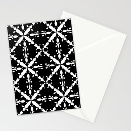 Behind pattern by Marie-Laurence Monet Stationery Cards