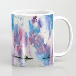Ice river morning Coffee Mug