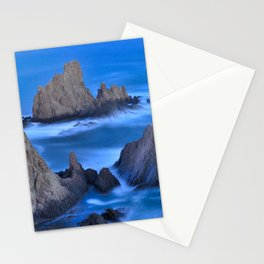 Blue sunset at the singing Mermaid Reef Stationery Cards