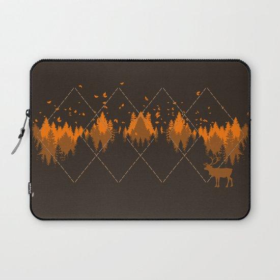 Tradicional Nature Pattern Laptop Sleeve