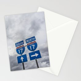 Driving Directions in Arizona Stationery Cards