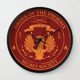 Order of the Phoenix - Official Secret Keeper Member Design Wall Clock