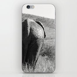 Elephant in Africa iPhone Skin