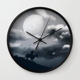 Eternal Moon Rises Wall Clock
