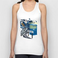hedwig Tank Tops featuring Hedwig Says Who! by Laughing Devil