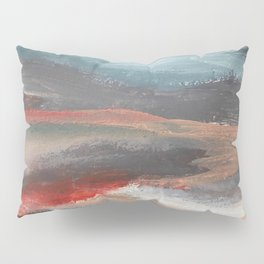 Serenity [2]: an acrylic piece in both warm and cool colors by Alyssa Hamilton Art Pillow Sham