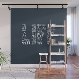 Life is a Design  Wall Mural