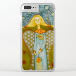 Counting stars Clear iPhone Case