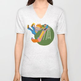 The Slide Unisex V-Neck