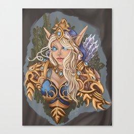 Ranger Sylvanas Canvas Print