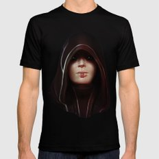 Mass Effect: Kasumi Goto 2X-LARGE Mens Fitted Tee Black