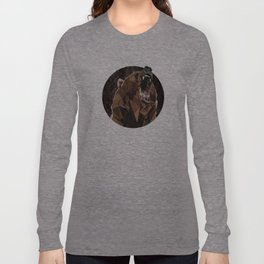 I can't bear these triangles! Long Sleeve T-shirt