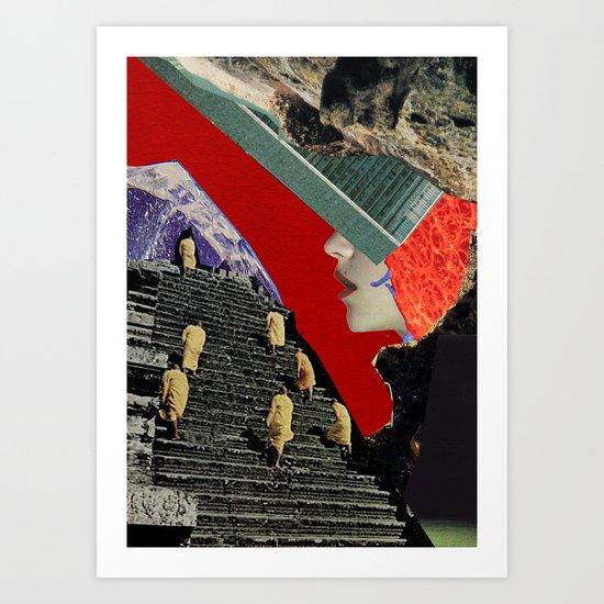 Ascension by Zabu Stewart Art Print