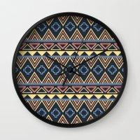 marley Wall Clocks featuring Marley by Tess Ellis
