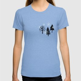Xmas trees. Winter forest T-shirt