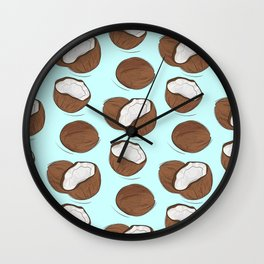 Coconut Wall Clock