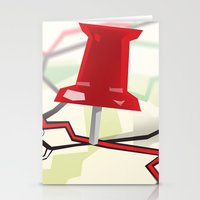 paper towns Stationery Cards featuring Paper Towns by Dreki