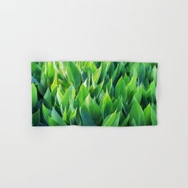 Green leaves so beautiful. Hand & Bath Towel