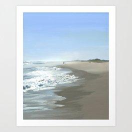 Nausett Beach Art Print