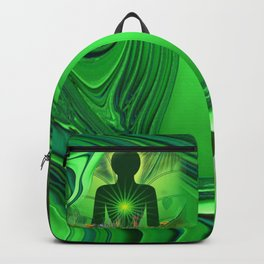 Heart Chakra Energy. Backpack