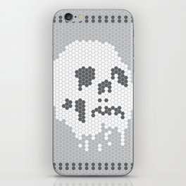 Skull Tile iPhone Skin