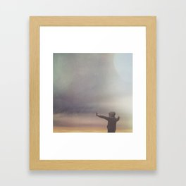 Power of the skies Framed Art Print