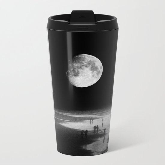 To the Moon Metal Travel Mug