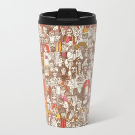 Victorian Crowd Travel Mug