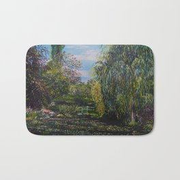 Monet's Garden Bath Mat