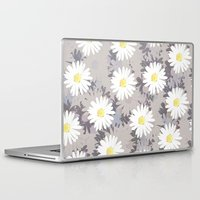 daisies Laptop & iPad Skins featuring Daisies by Georgiana Paraschiv