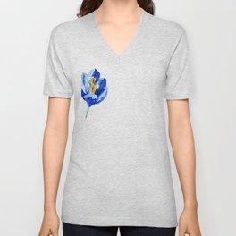 flower IX Unisex V-Neck