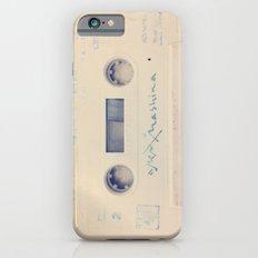 vintage cassette iPhone 6s Slim Case
