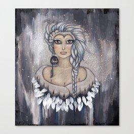 Winter's Owl Canvas Print