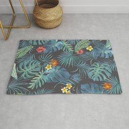 Palm Leaves Pattern 2 Rug