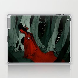 Snow White Lost in the Woods Laptop & iPad Skin