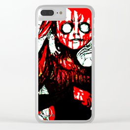JAMS IS DEAD Clear iPhone Case