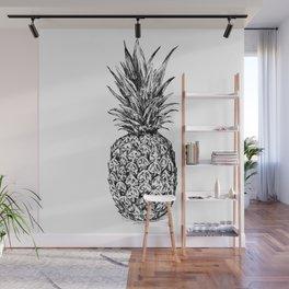 Pineapple print Wall Mural