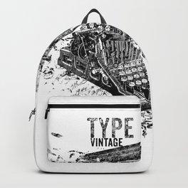 Vintage Typewriter - Type Vintage Backpack