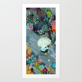 Rainworms Art Print