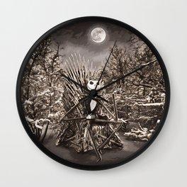 Game of Bones Wall Clock