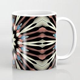 Abstract Flower Mandala Coffee Mug