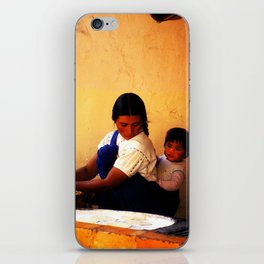 Chamula Woman and Child iPhone Skin