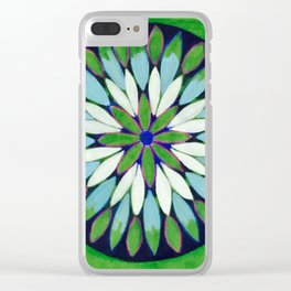 Botanical Refletions Clear iPhone Case