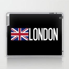Britain: British Flag & London Laptop & iPad Skin