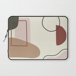 live with love - on ebony backgroung Laptop Sleeve