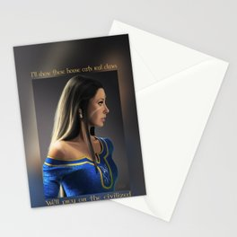 Nidalee in Demacia's court Stationery Cards