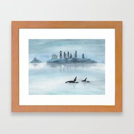 Nature is my home Framed Art Print