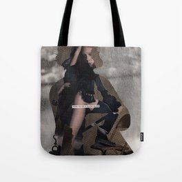 is there actually a middle ground between numb and hysterical or is that just another myth Tote Bag