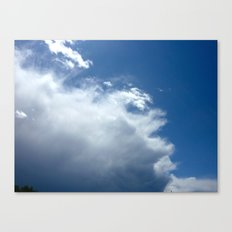 cloud Canvas Print