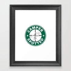 Camper Spotted Framed Art Print